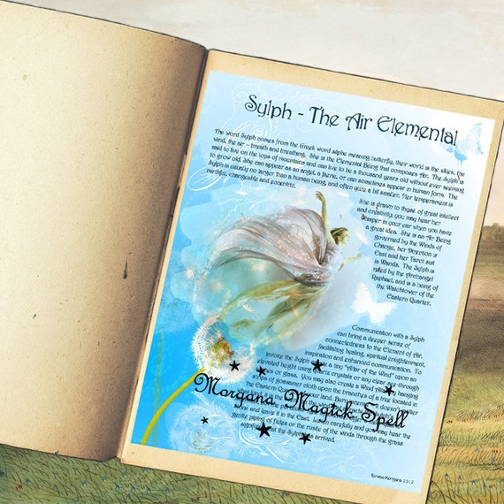 Sylph the Air Elemental Spirit