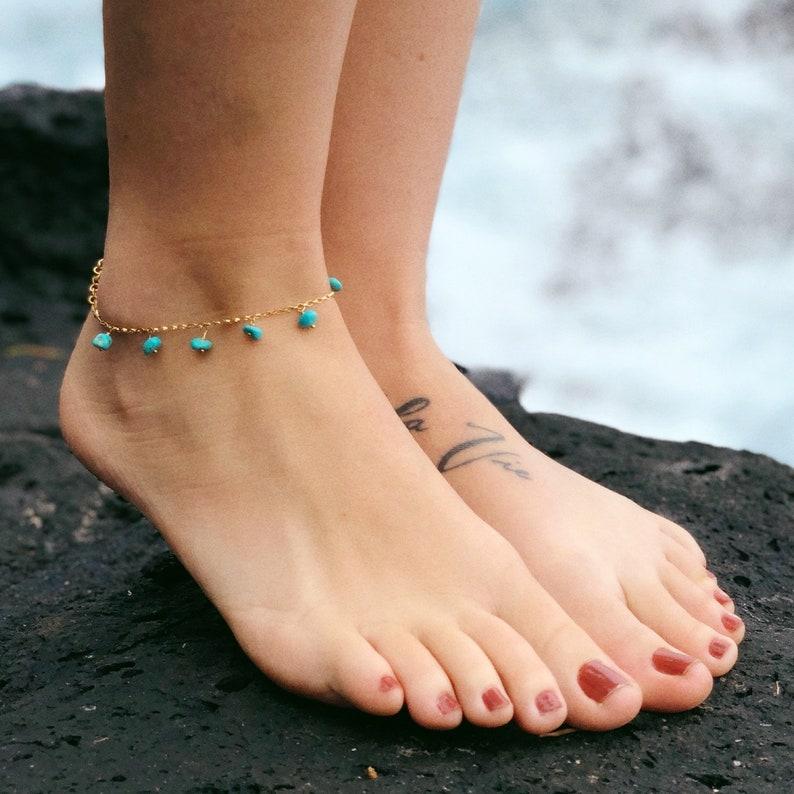 Naked girl anklet — photo 8