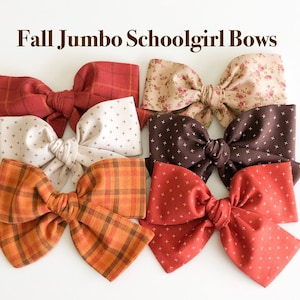 Schoolgirl Bow Oversized Bow Fall Bow Back to School Bow Fall Colors Bow Olive Velvet Bow