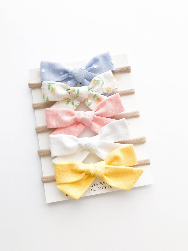 Baby Headbands  Baby Bows  Easter Bows  Easter Headbands  image 0