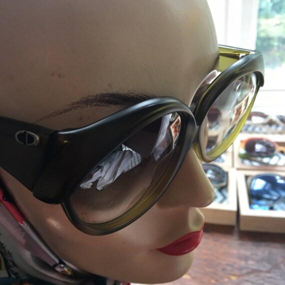 1970s /1980s Green Dior Sunglasses