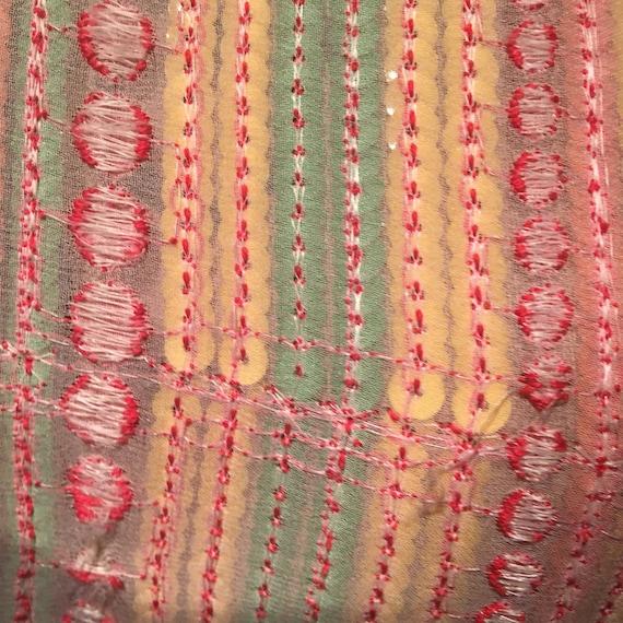 Thea Porter 1970s Rare Collectible Multi coloured… - image 8