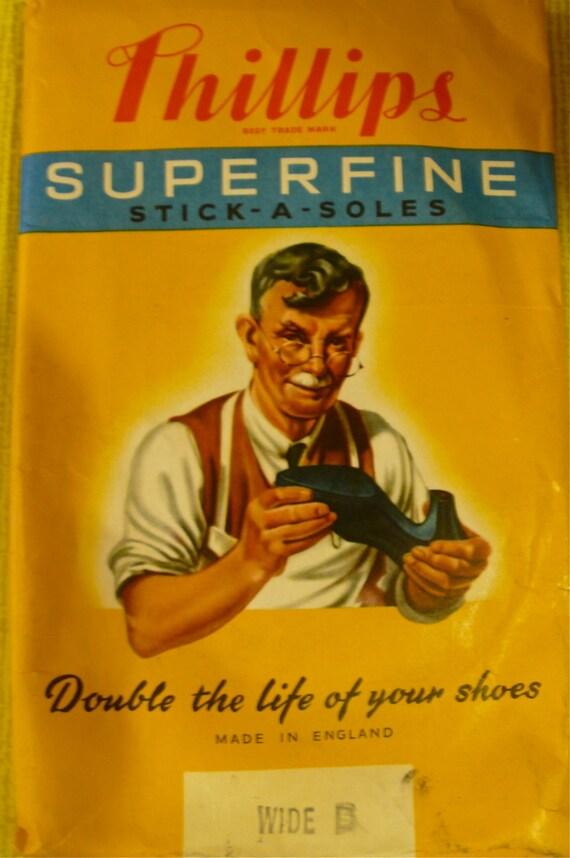 1950s Phillips Stick A Soles Ladies Vintage Shoe Etsy