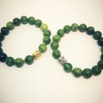 Jade Bracelet with Buddha