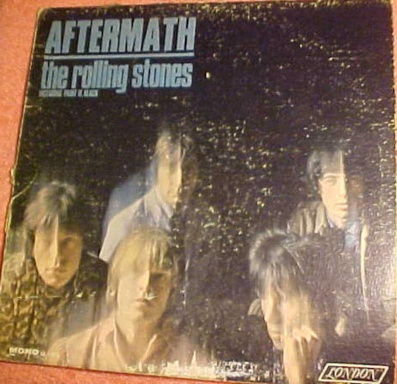 AfterMath the Rolling Stones London Rare Mono Album LL 3476 Cover Only
