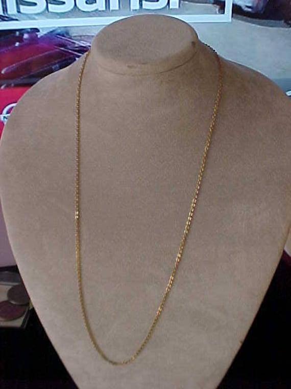 "10k or Jaune Herringbone Bracelet de cheville 9/"" 10/"""