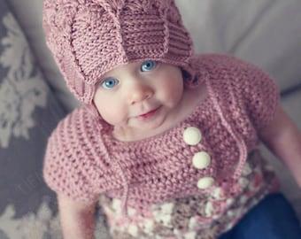 INSTANT DOWNLOAD - Crochet Waterfalls Slouchy