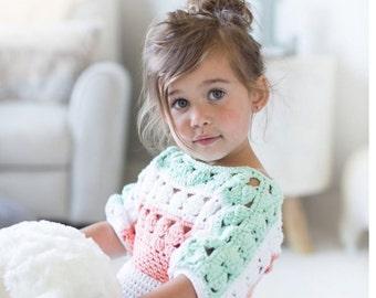 INSTANT DOWNLOAD - Crochet Top Tunic - Amelia Crochet Tunic