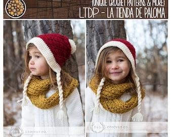 INSTANT DOWNLOAD - Crochet Frieda Slouchy Hat