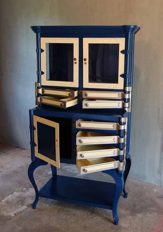 Vintage Dental Cabinet. - Vintage Dental Cabinet. Etsy