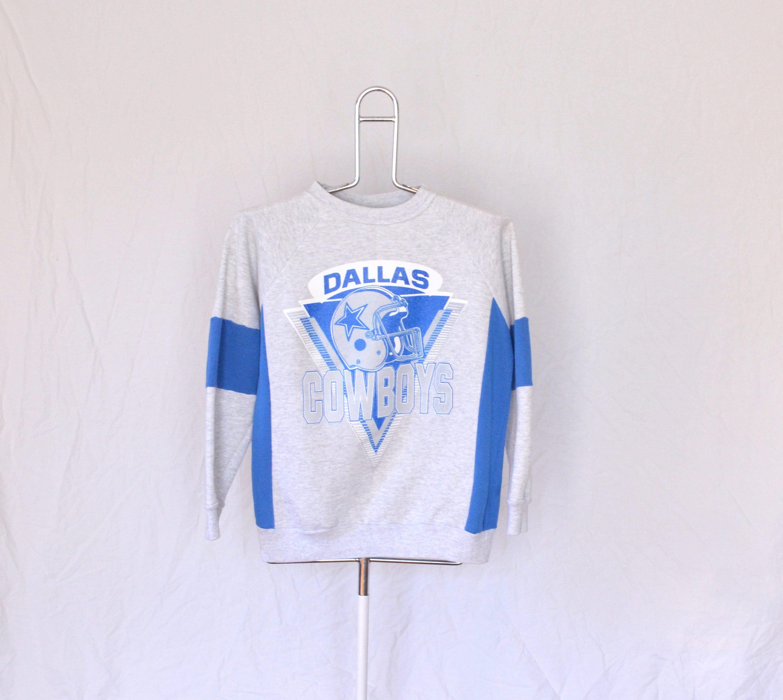 4c6ff326 Vintage Dallas Cowboys Raglan Sweatshirt Mens Small Unisex | Etsy