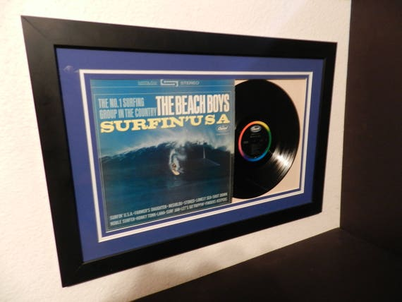 Beach Boys Surfin Usa Framed