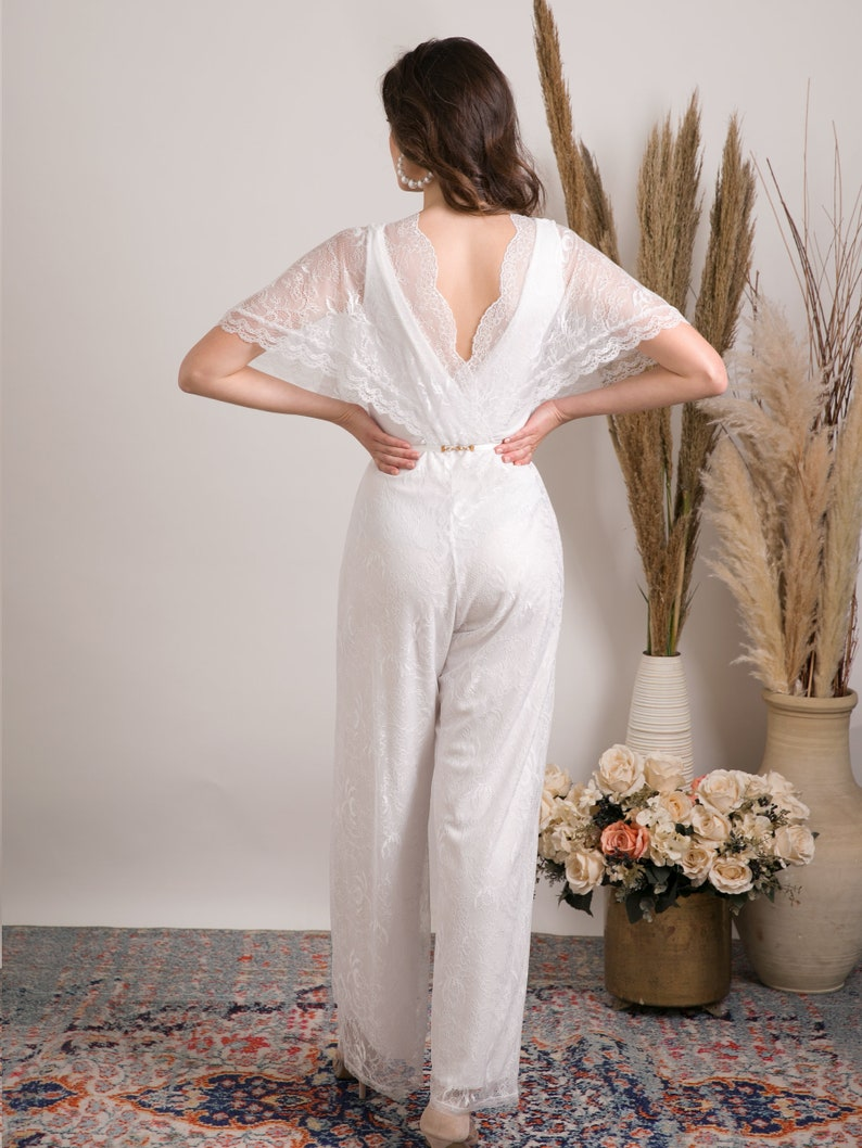 Wedding jumpsuit for the boho bride | Stay at Home Mum