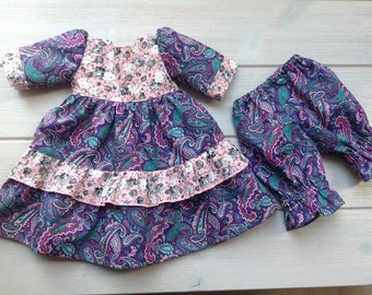 """Beautiful  dress and pants for 20"""" Waldorf Doll"""