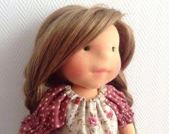 Waldorf Doll - Zoe - Waldorf inspired doll, Steiner doll, cloth doll,organic waldorf doll