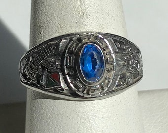 Vintage Silver 1998 Berlin High Class Ring-Size 8