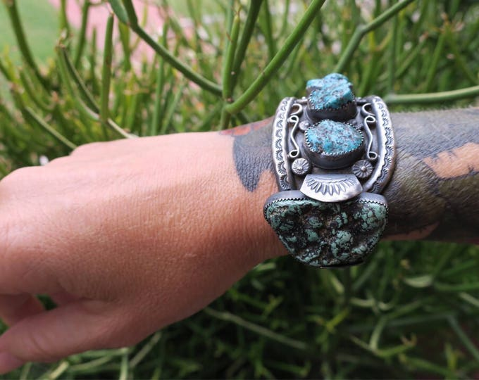 Nugget Turquoise Cuff