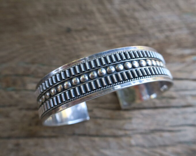Vintage Sterling Stacking Cuff