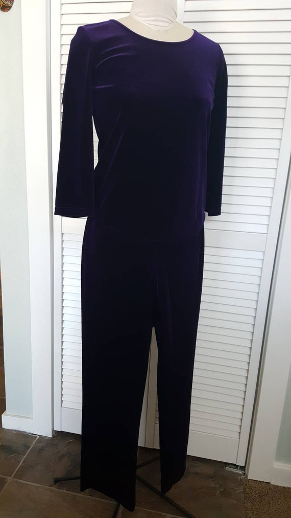 Purple Pant Suit / Jammies /Track Suit
