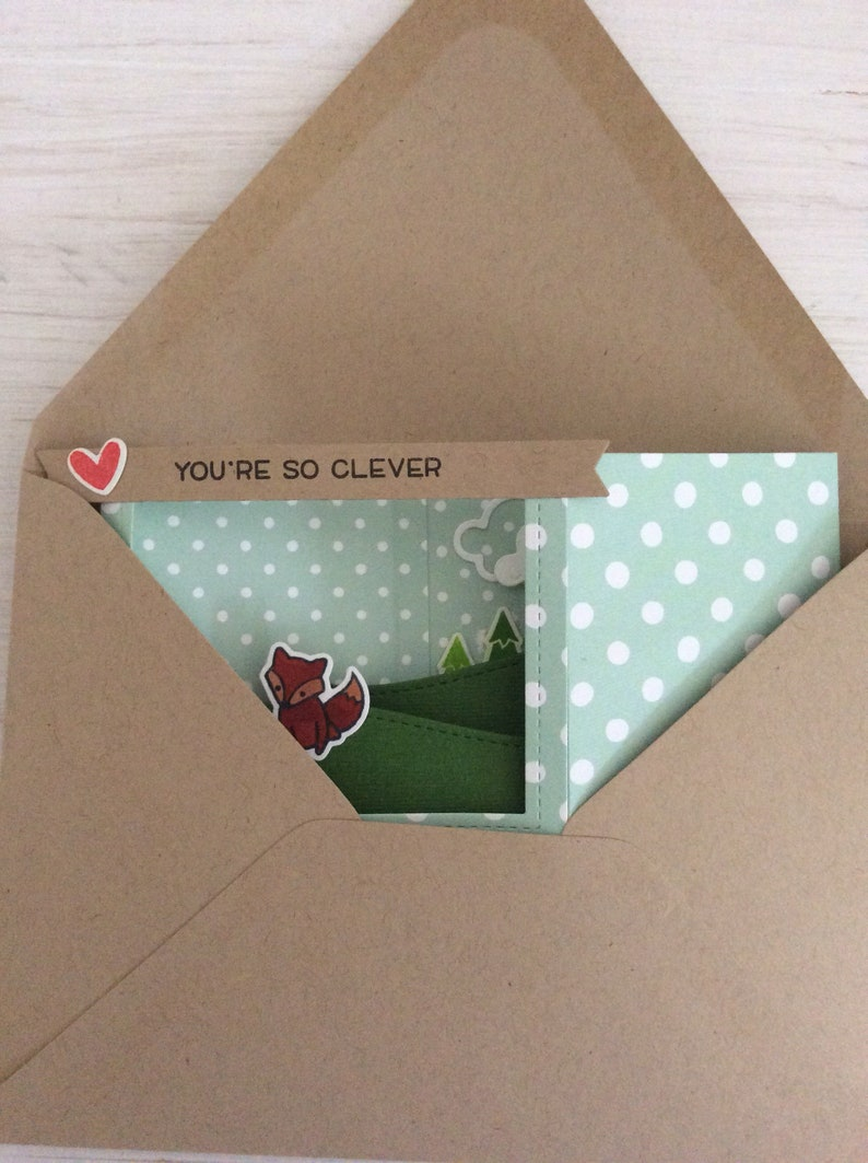 Lawn Fawn Clever Fox Mother/'s Day Card