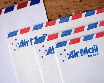 Office & School Supplies Post- & Versandmaterialien 50 Stücke Retro Stil Kraft Papier Umhüllt Postkarte Einladung Brief Schreibwaren Papier Tasche Vintage Air Mail Geschenk Umschlag Braun