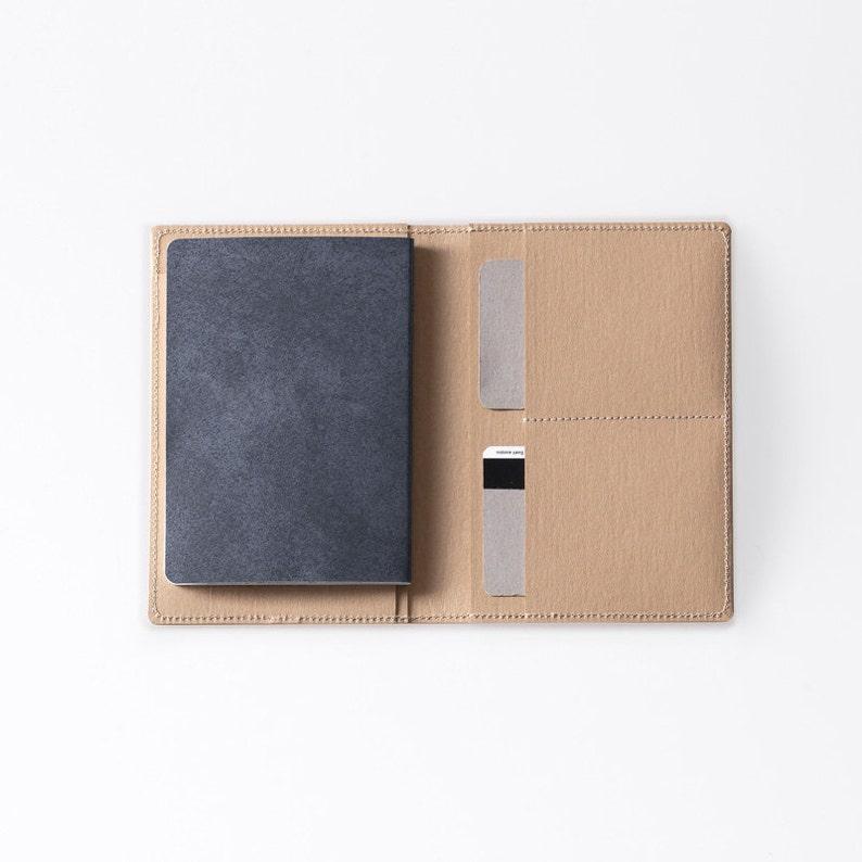 Travel Wallet / Minimalist Washable Paper Passport Sleeve in image 0