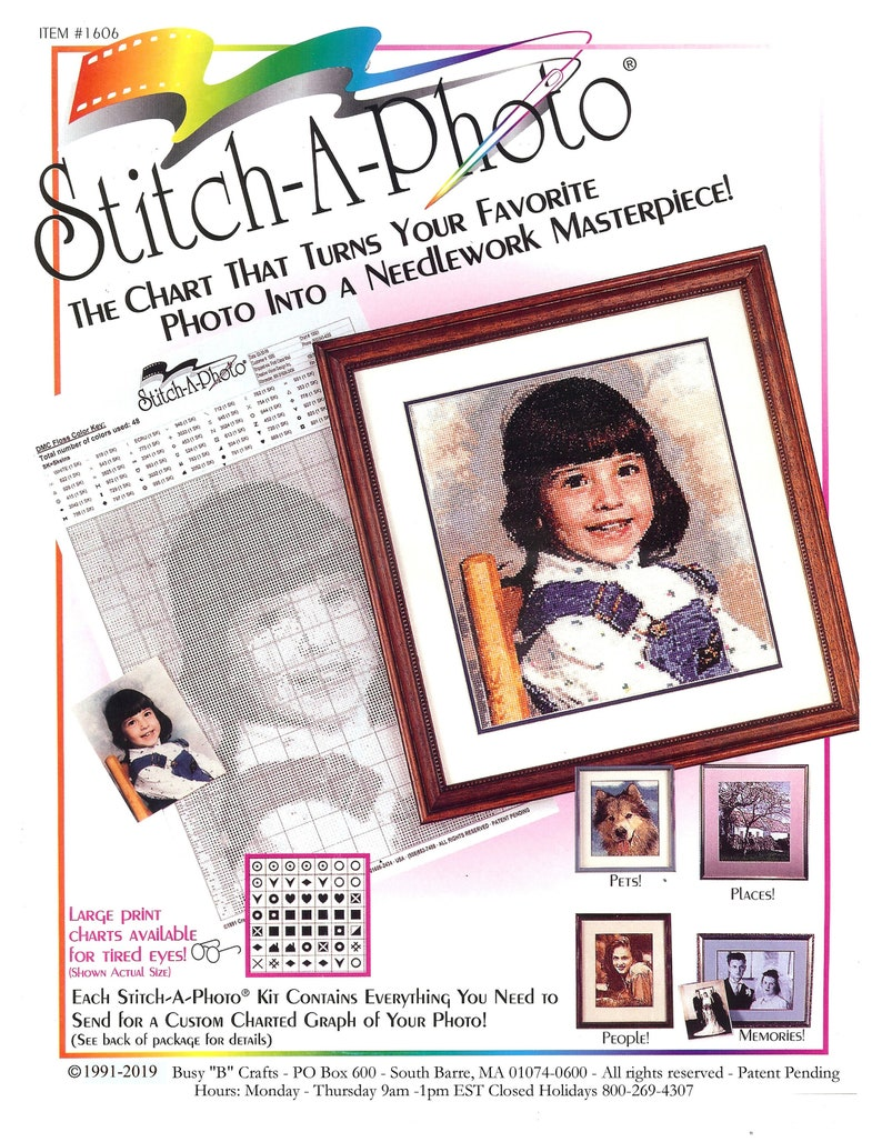 Stitch A Photo  Personalized Needlework image 0