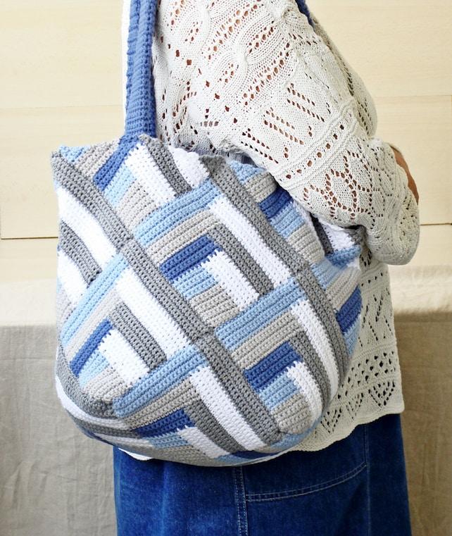 Häkeln Tasche große Handtasche häkeln Umhängetasche Oma Tasche | Etsy