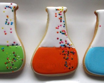 Mad Science Beaker Cookies 2 dozen