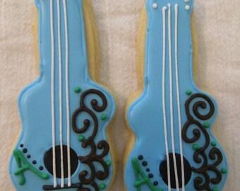 Guitar Cookies 2 dozen