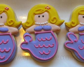 Mermaid cookies 2 dozen