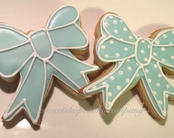 Bow Cookies 2 dozen