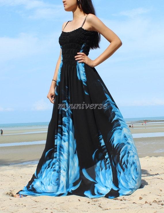 Hawaiian Bridesmaid Dress