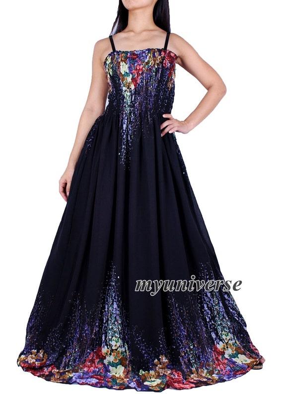 Black Party Dress Prom Dress Formal Gown Maxi Dress Women Plus Etsy