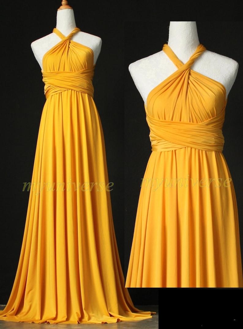 8425b8250852d Wedding Infinity Maxi Dress Wrap Convertible Dress Bridesmaid | Etsy