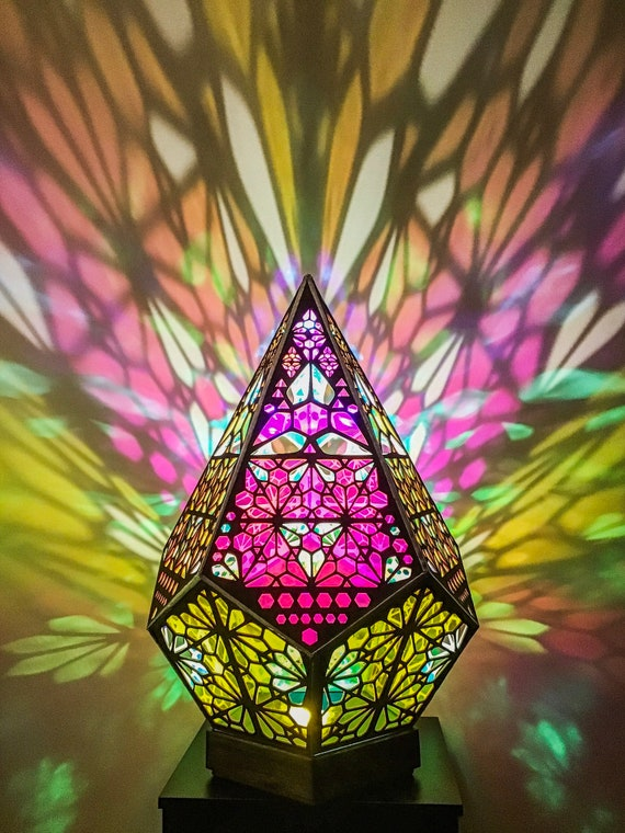 Sacred Geometry Psychedelic Lamp