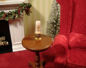 Dollhouse Miniature Candle