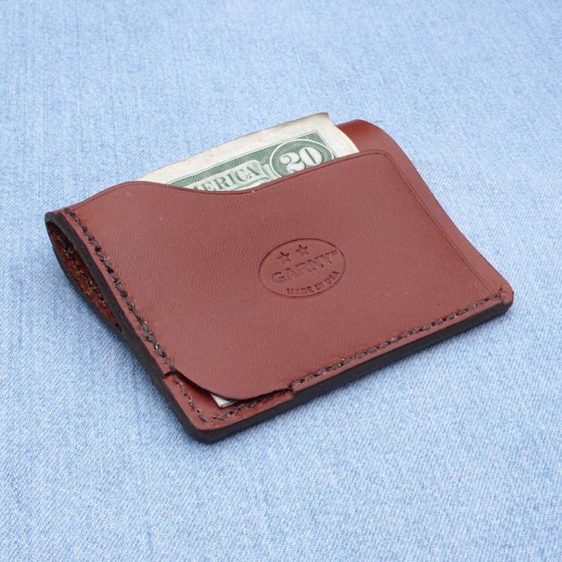 3195658152648 Leder-Geldbörse minimalistische Ledergeldbörse Herren