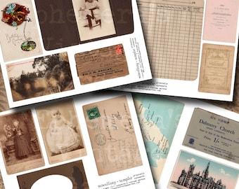 Vintage Ephemera - Miscellaneous Sampler