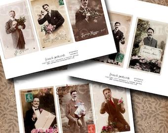 Vintage Postcards - French Gentlemen