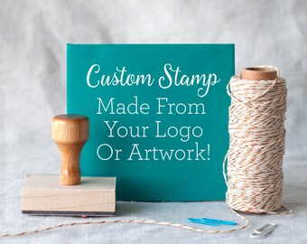 """Logo stamp, Custom rubber stamp from your logo or artwork - custom logo stamp - custom packaging stamp custom stamp 1x1"""" 2x2"""" 3x3"""" 1x2"""" 2x4"""""""