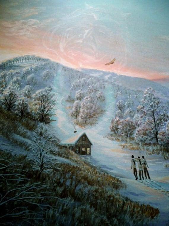 Native American Art Nature Art Wildlife Art Home Decor Etsy