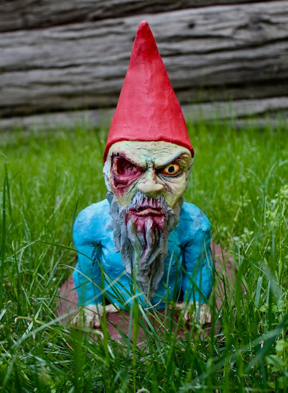 Special Edition Zombie Gnome: I See You... FREE SHIPPING USA | Etsy