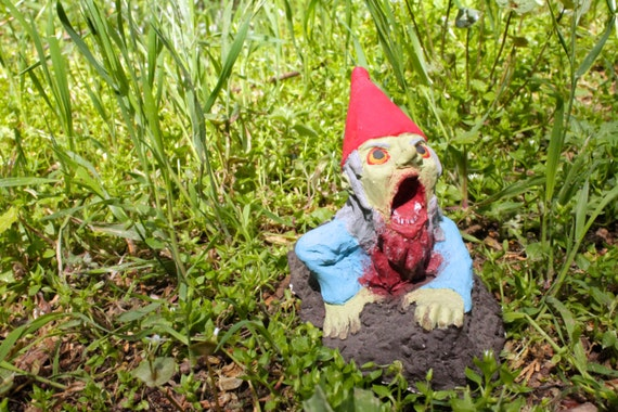 Zombie Gnomes: Dylan the Demonstrative | Etsy