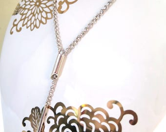 """Sterling Silver 20"""" Drop Necklace"""