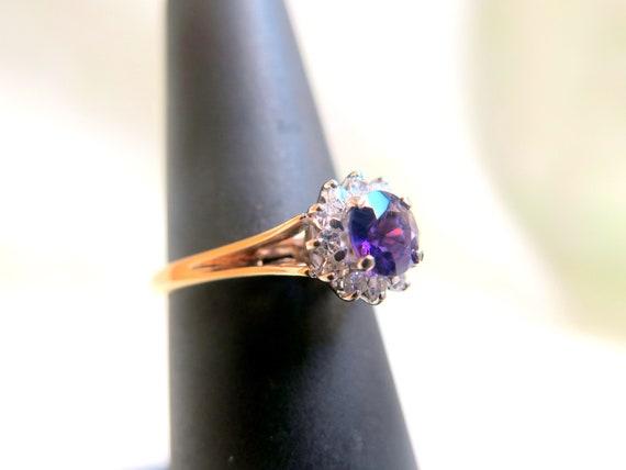 14k Victorian Amethyst Ring