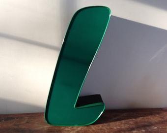 Reclaimed Metal letter - L