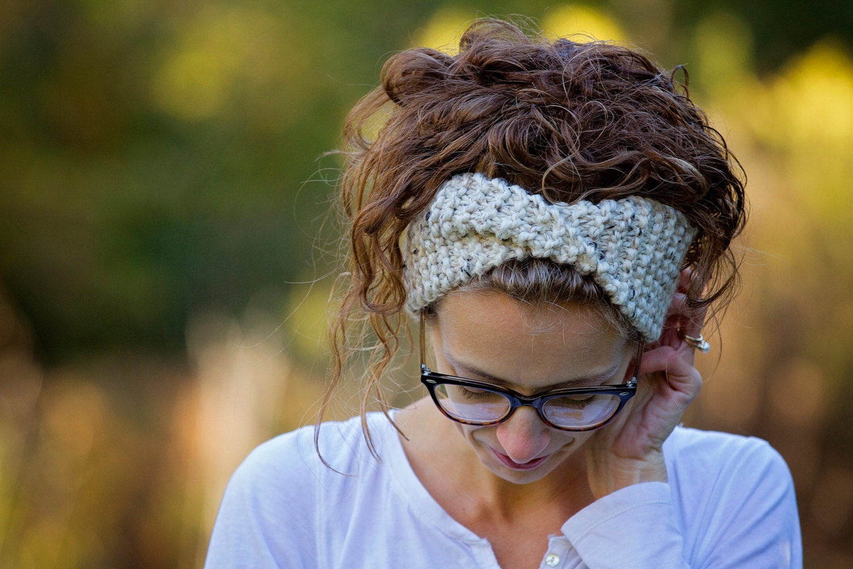 319ad3e1cdd0 Knitted Headband Headwrap Turban Earwarmer   THE BUSH