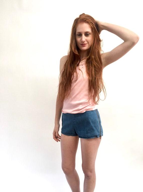 Vintage Landlubber 70s Denim Hot Pants Short Short