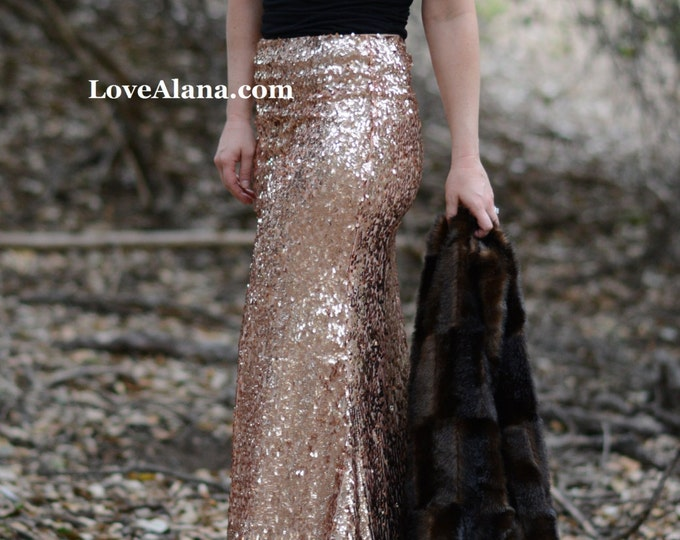 Featured listing image: CLEARANCE - Pink Champagne - Back in stock! Oval shiny light pink sequins, ships asap. Gorgeous in person, made in the USA
